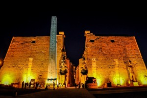 Circles of Light at Luxor