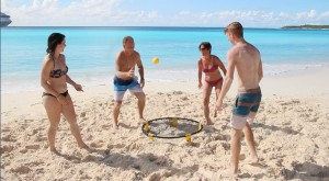 Circles of Light Beach Fun