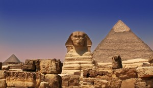 Circles of Light at the Sphinx