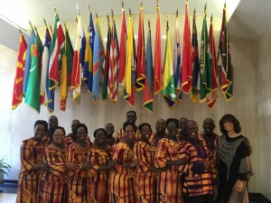 Safari Voices at the United Nations