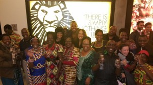 Safari Voices at the Lion King on Broadway